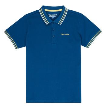 Textil Chlapecké Polo s krátkými rukávy Teddy Smith PASY Tmavě modrá