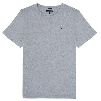 Textil Chlapecké Trička s krátkým rukávem Tommy Hilfiger KB0KB04140 Šedá