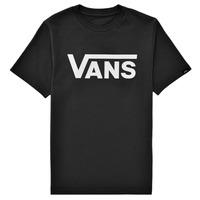 Textil Děti Trička s krátkým rukávem Vans BY VANS CLASSIC Černá