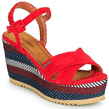 Boty Ženy Sandály Refresh LOCKAL Červená