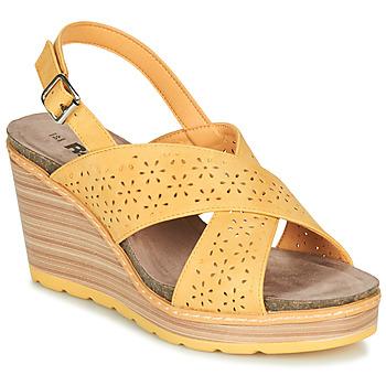 Boty Ženy Sandály Refresh RILO Žlutá