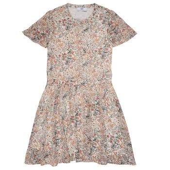 Textil Dívčí Krátké šaty Le Temps des Cerises JUNO Vícebarevná