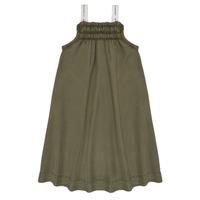 Textil Dívčí Krátké šaty Le Temps des Cerises BIJA Khaki