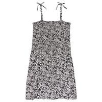 Textil Dívčí Krátké šaty Le Temps des Cerises PUNTA Černá / Bílá