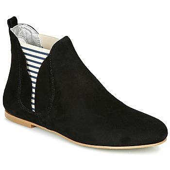 Boty Ženy Kotníkové boty Ippon Vintage PATCH FLYBOAT Černá