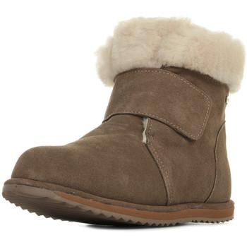 Boty Dívčí Zimní boty EMU Sommers Kids Hnědá