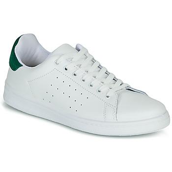 Boty Ženy Nízké tenisky Yurban SATURNA Bílá / Zelená