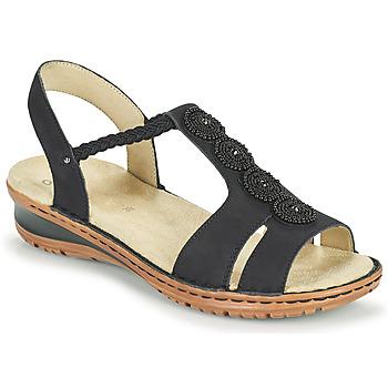 Boty Ženy Sandály Ara HAWAII Černá