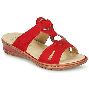 Boty Ženy Sandály Ara HAWAII Červená
