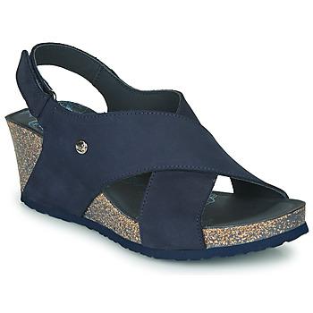 Boty Ženy Sandály Panama Jack VALESKA Modrá