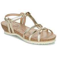 Boty Ženy Sandály Panama Jack DORI Zlatá