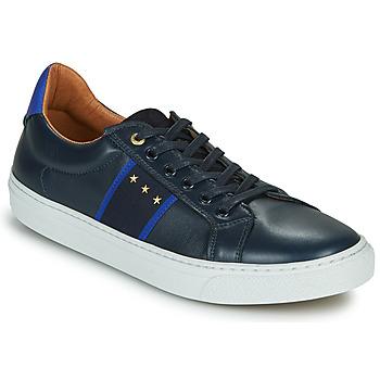 Boty Muži Nízké tenisky Pantofola d'Oro ZELO UOMO LOW Modrá