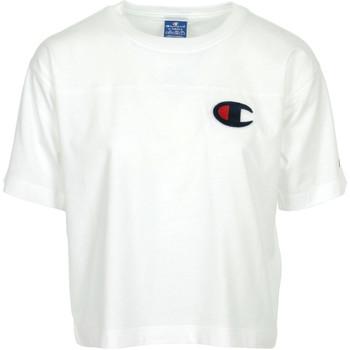 Textil Ženy Trička s krátkým rukávem Champion Crewneck T-Shirt Bílá