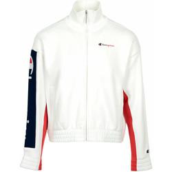 Textil Ženy Teplákové bundy Champion Full Zip Sweatshirt Wn's Bílá