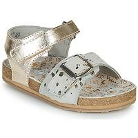 Boty Dívčí Sandály Mod'8 KORALY Zlatá