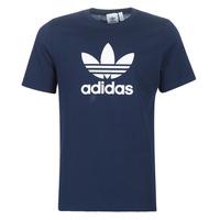 Textil Muži Trička s krátkým rukávem adidas Originals ED4715 Tmavě modrá
