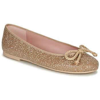 Boty Ženy Baleríny  Pretty Ballerinas BELLE SAND Zlatá