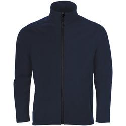 Textil Muži Teplákové bundy Sols RACE MEN SOFTSHELL Azul