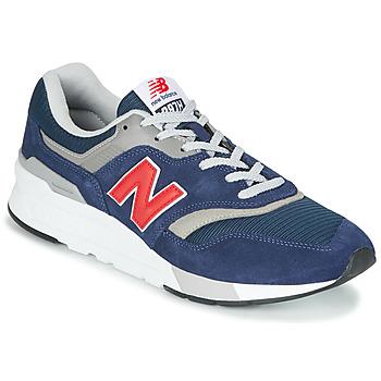 Boty Nízké tenisky New Balance 997 Modrá / Červená