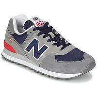 Boty Muži Nízké tenisky New Balance 574 Šedá / Modrá / Červená