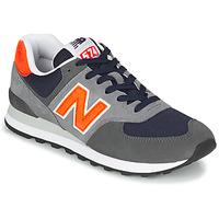 Boty Muži Nízké tenisky New Balance 574 Šedá / Oranžová