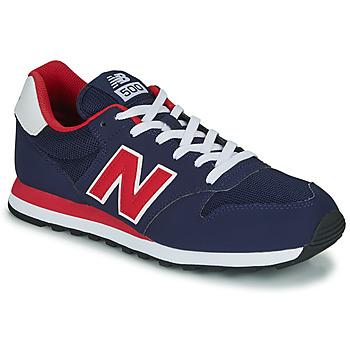 Boty Muži Nízké tenisky New Balance 500 Modrá / Červená