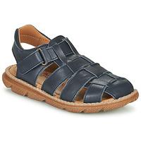 Boty Chlapecké Sandály Citrouille et Compagnie GLENO Tmavě modrá