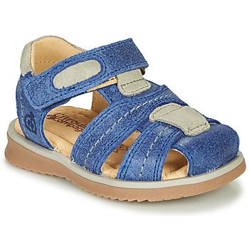 Boty Chlapecké Sandály Citrouille et Compagnie MABILOU Modrá
