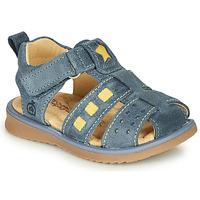 Boty Chlapecké Sandály Citrouille et Compagnie MARINO Tmavě modrá