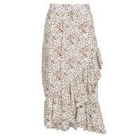 Textil Ženy Sukně Betty London MADILOU Bílá / Červená
