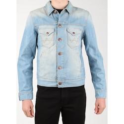 Textil Muži Riflové bundy Wrangler Denim Jacket W458QE20T blue