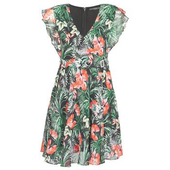 Textil Ženy Krátké šaty Guess EULALIA DRESS Černá / Zelená