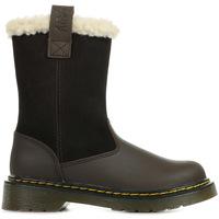 Boty Dívčí Zimní boty Dr Martens Juney Junior Hnědá