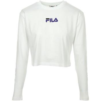 Textil Ženy Polo s dlouhými rukávy Fila Reva Cropped T-Shirt Bílá
