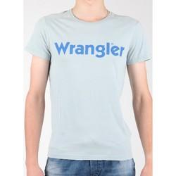 Textil Muži Trička s krátkým rukávem Wrangler S/S Graphic Tee W7A64DM3E grey