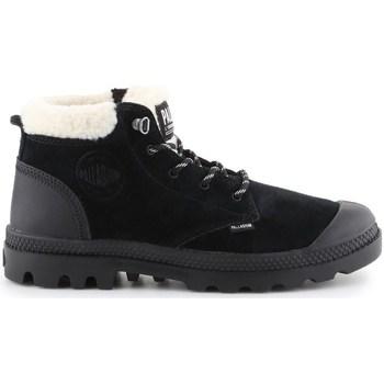 Boty Ženy Zimní boty Palladium Manufacture Pampa LO WT Černé