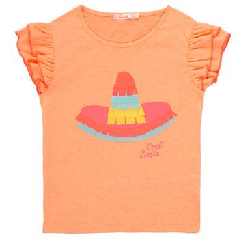 Textil Dívčí Trička s krátkým rukávem Billieblush / Billybandit NORE Oranžová