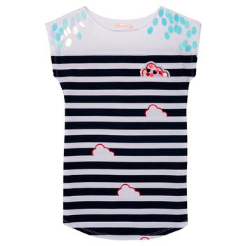Textil Dívčí Krátké šaty Billieblush / Billybandit NATIA Modrá