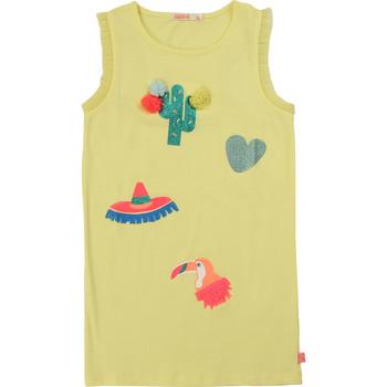 Textil Dívčí Krátké šaty Billieblush / Billybandit NIAMO Žlutá