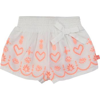 Textil Dívčí Kraťasy / Bermudy Billieblush / Billybandit NEYO Bílá