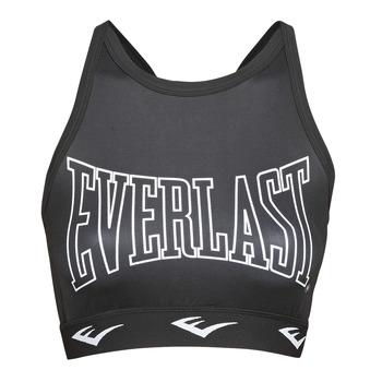Textil Ženy Sportovní podprsenky Everlast DURAN Černá / Bílá
