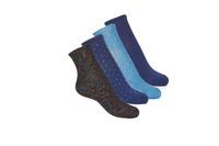 Textilní doplňky Ženy Ponožky André SHINE Tmavě modrá