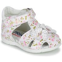 Boty Dívčí Sandály Primigi 5401300 Bílá / Růžová