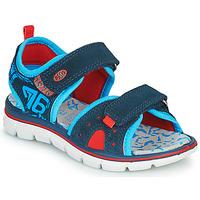 Boty Chlapecké Sandály Primigi 5392822 Tmavě modrá / Modrá / Červená