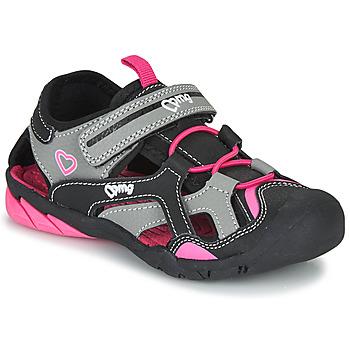 Boty Dívčí Sportovní sandály Primigi 5460011 Černá / Růžová