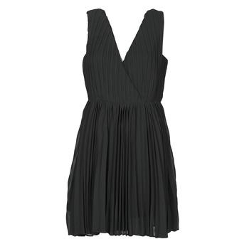 Textil Ženy Krátké šaty Moony Mood MINIZIA Černá