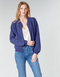 Textil Ženy Mikiny Moony Mood CHUCKY Tmavě modrá
