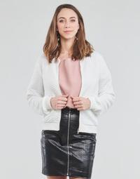 Textil Ženy Mikiny Moony Mood CHUCK Bílá