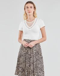 Textil Ženy Halenky / Blůzy Moony Mood DURINO Bílá