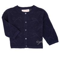Textil Dívčí Svetry / Svetry se zapínáním Lili Gaufrette NANETTE Tmavě modrá